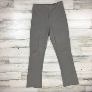 Vintage 90s Light Gray Flared Pants Medium